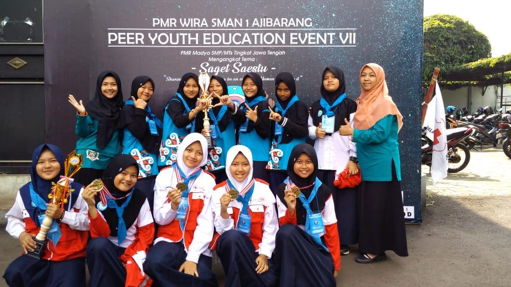 Juara 3 lomba LCT (Lomba Cerdas Tangkas) dan ILM (Iklan Layanan Masyarakat) PMR WIRA SMA N 1 AJIBARANG